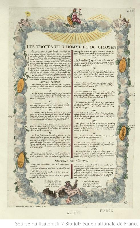 the role and significance of the declaration of the rights of man and citizen in france Get an answer for 'what is the significance of the declaration of the rights of man and  rights of man and citizen significance  rights people had in france.